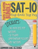 SAT-10 First Grade Reading + Math Practice Primary Reading