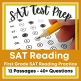 SAT-10 First Grade Reading Practice Primary Reading Test Prep