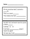 SAT-10 Goal Setting Form