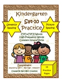 SAT-10 Kindergarten Practice - Reading