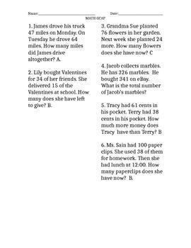 SAT 10 Math Practice