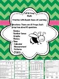 SAT-10 Math Prep for Kindergarten (10 Preps)