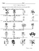 SAT 10 Sentence Reading Packet 3