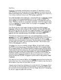 SAT, ACT, ASVAB Vocabulary Story Journal from Quarantine