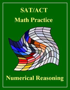SAT/ACT Math Practice Problems - Numerical Reasoning Bundle