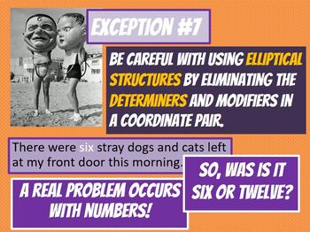 SAT / ACT Prep: Exceptions & Oddities in Coordinate Structures