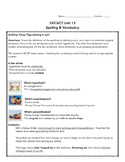 SAT ACT Unit 13 Spelling/Vocabulary Activities & Assessments