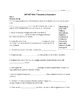 SAT ACT Unit 7 Spelling & Vocabulary Activities/Assessment