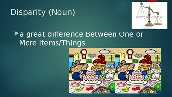 SAT-ACT Vocabulary Powerpoint with Photos