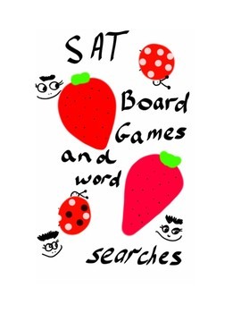 SAT WORD SEARCHES AND BOARD GAMES