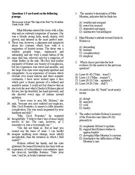 SAT Bell Ringer Literature 3