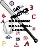 SAT English Baseball Cards
