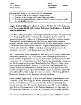 SAT Essay: high-scoring student example #1 (article) | Khan Academy