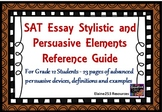 SAT Essay Stylistic and Persuasive Elements Guide