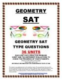 SAT GEOMETRY - 36 PRACTICE UNITS