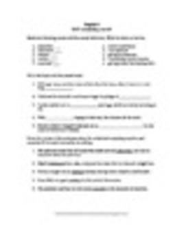 SAT List 1 Test