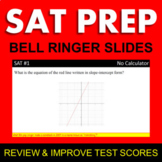SAT Math Bell Ringers - Full Semester (With 80's Trivia)