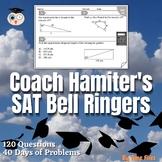 SAT Math Bell Ringers