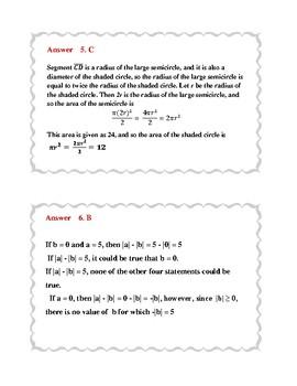 5-Minute Math: SAT Prep