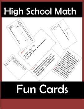 SAT Prep Math Fun
