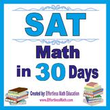 SAT Math in 30 Days + 2 full-length SAT Math practice tests