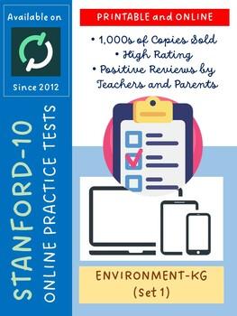 SAT Practice Test in Environment for Kindergarten (Version 1)