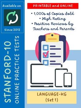 SAT Practice Test in Language for Kindergarten (Version 1)