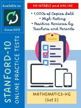 SAT Practice Test in Mathematics for Kindergarten (Version 2)
