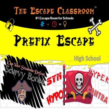SAT Prefix Escape Room (9th - 12th Grade)   The Escape Classroom