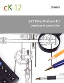 SAT Prep 3 (Questions and Answer Key)