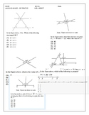 SAT Prep Lines and Angles