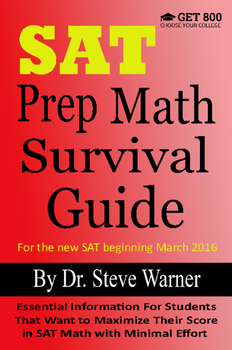 SAT Prep Math Survival Guide