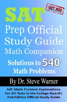 SAT Prep Official Study Guide Math Companion (old SAT)