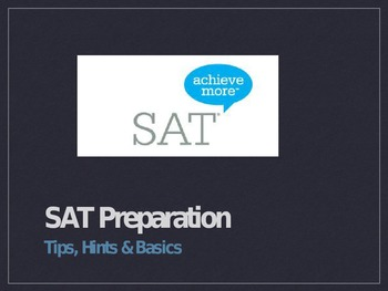 SAT Prep: The SAT Basics