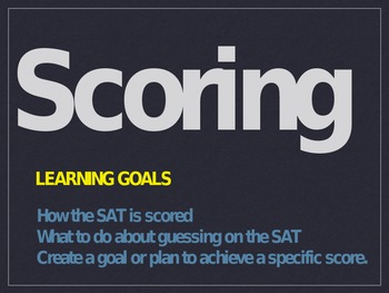 SAT Preparation: How The SAT Is Scored