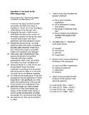 SAT Reading Bell Ringer U.S. Founding Document 1