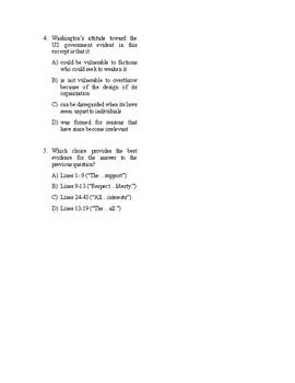SAT Reading Bell Ringer U.S. Founding Document 4