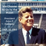 We Choose to go to the Moon by John F. Kennedy | SAT Style