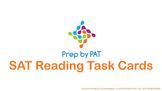 SAT Reading Test Task Cards
