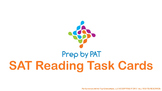 SAT Reading Test Task Cards (Preview)