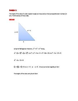SAT MATH STUDY GUIDE: Quadratic functions: graphs/equations