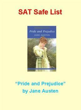 SAT Safe List - Pride and Prejudice