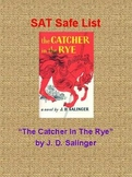 SAT Safe List - The Catcher In The Rye