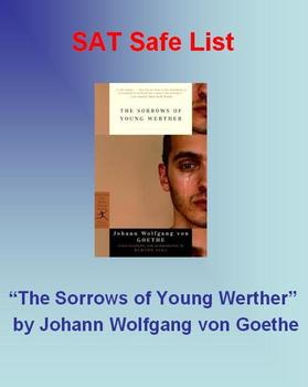 SAT Safe List - The Sorrows of Young Werther