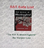 SAT Safe List - To Kill A Mockingbird