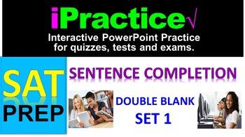 SAT Sentence Completion (Set 1): iPractice - Interactive P