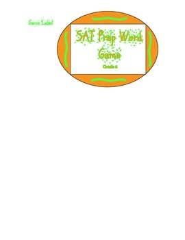 SAT Sight Word Vcabulary Game -Grade 6