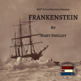 Frankenstein by Mary Shelley | SAT Style Reading Practice