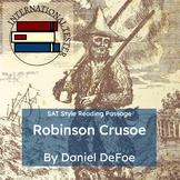 Robinson Crusoe by Daniel Dafoe | SAT Style Reading Practice