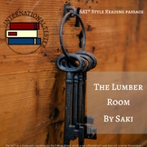 The Lumber Room by Saki | SAT Style Practice Passage